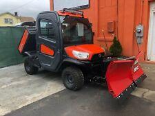 Kubota Rtv X-1100C Hydraulic, Brand New Western V Plow, Radio, Led Light, Rear