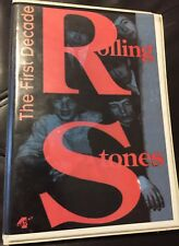 THE ROLLING STONES THE FIRST DECADE VINTAGE MUSIC CD SET V9