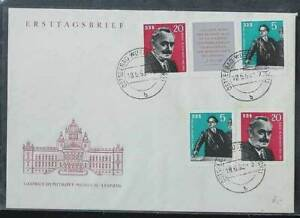 DDR 893 - 894 als Ersttagsbrief
