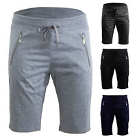 Pantaloni uomo sportivi bermuda misto cotone zip shorts pantaloncini ST-5049