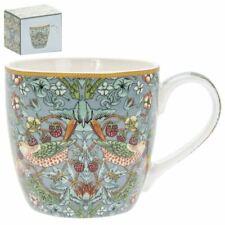 WILLIAM MORRIS STRAWBERRY THIEF BREAKFAST CHINA COFFEE MUG CUP NEW GIFT BOX LP