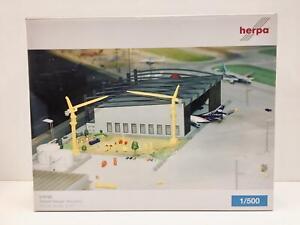 Herpa Wings Miniaturmodelle Airport Hangar (Bausatz) 1:500 519762