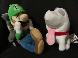 Nintendo Little Buddy Sanei Super Mario Luigi's Mansion Plush Polterpup Plush