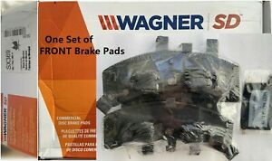 Front Disc Brake Pad Set for 1992-2000 GMC Yukon,Severe Duty Wagner SX369 Semi-M