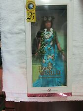 DOTW Princess of the Pacific Islands Barbie NRFB 2005 Pink Label #G8056