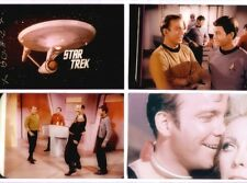 4 classic STAR TREK 8x10 color photos, 2 bloopers, more. Leonard Nimoy