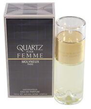 QUARTZ POUR FEMME 3.3 / 3.4 OZ EDP SPRAY BY MOLYNEUX NEW IN A BOX