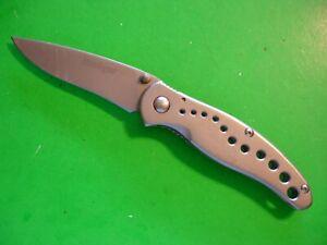 "NTSA  KERSHAW 4"" CLOSED ""VAPOR"" FRAME LOCK POCKET KNIFE #1640"