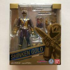 Power Rangers Samurai Sentai Shinkenger S.H. Figuarts Figure Shinken Gold Japan
