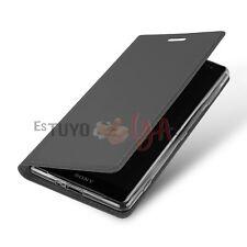 Funda con Tapa para Sony Xperia XZ2 Cierre Magnético Función Soporte Tarjetero