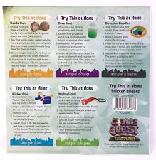 VBS Group Cave Quest - Try this at home sticker sheets church sunday summer camp