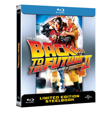 Back to the Future II  Limited Edition  Steelbook / Steelcase (Part 2, Blu-ray)