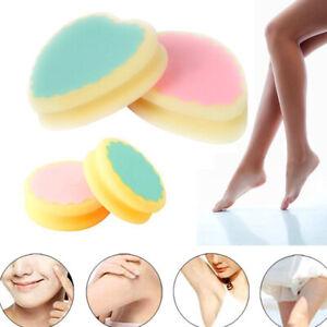 Painless Hair Removal Sponge Magic Pad Depilatory for Face Leg Arm Body Reusable
