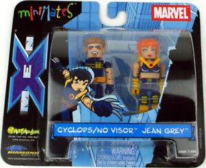 Marvel MINIMATES Cyclops / No Visor & Jean Grey OVP