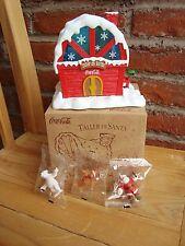 COCA COLA X-MAS christmas Santa`s workshop taller de Santa Navidad Mexico 2010