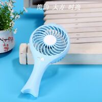 Mini USB Portable Hand-held Mute Cooling Fish Fan Student Outdoor Travel newest