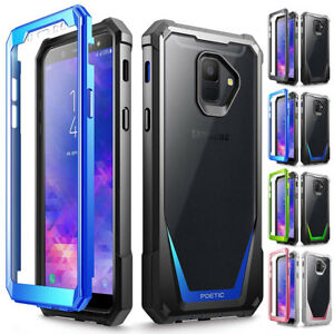 For Samsung Galaxy A6 Case Hybrid TPU Bumper Shockproof Protector Cover