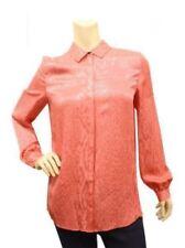 Animal Print Long Sleeve Blouses for Women