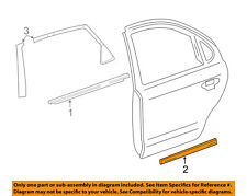FORD OEM REAR DOOR-Body Side Molding Right 5G1Z5425556BAPTM