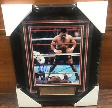 Mike Tyson Autographed Signed & Framed 8x10 Picture Photo PSA