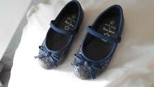 Los Bebés Azul Marino Brillo Tamaño del zapato 7 Para Boda/Fiesta Nuevo
