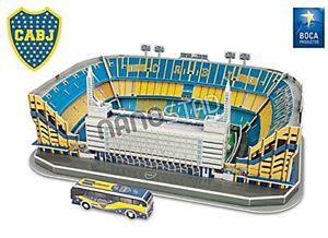 Boca Juniors La Bombonera Stadium 74pc 3D jigsaw puzzle 26cm x 19cm x 9cm