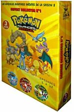 Pokémon Advanced Battle  collector n°1 saison 8 coffret 3 DVD Neuf sous Blister