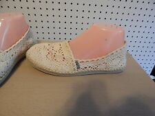 Womens BOBS by skechers shoes -ivory color - size 6.5 - SN 39564