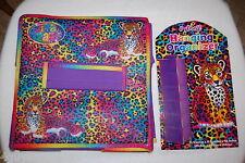 "6 Shelf Hanging Closet Orgnaizer Purple Lisa Frank Loepard Spots 11.5x11.5x48"""