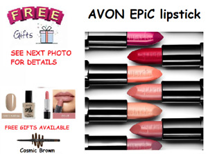Avon Mark Epic Lipstick 💄 With Built in Primer💄 FULL SIZE💄 Various Shades