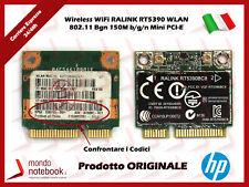 Scheda Wireless WiFi RALINK RT5390 WLAN 802.11 Bgn 150M b/g/n Mini 630705-001