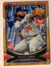 Kenley Jansen 2018 Topps Tribute #64 Base Dodgers Nice!