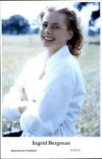 Beautiful Actress Ingrid Bergman E135/2 Swiftsure 2000 Postcard GREAT QUALITY