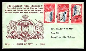 GP GOLDPATH: DOMINICAN REPUBLIC COVER 1935 _CV522_P12