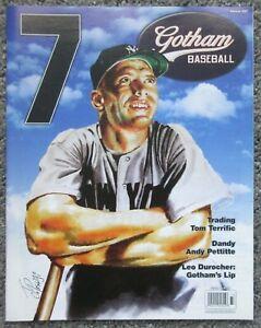 NEW YORK YANKEES MAGAZINE 2007 SUMMER GOTHAM MICKEY MANTLE COVER MINT