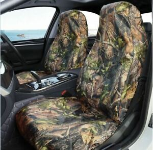 CAMO UNIVERSAL CAR SEAT COVERS FRONT AND REAR