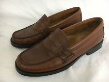 Weejuns Bass Katherine II Brown Womens Loafers Slip Ons Shoes 7.5 W Leather