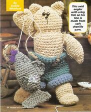 CUTE Mighty Fisherman Doll/Toy/ Crochet Pattern INSTRUCTIONS ONLY