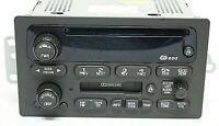 Dalphi Delco/GM OEM 15091317 Car Radio CD Cassette/Tape AM/FM 2002-03 Blazer/S10