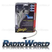 3.6m Stinger Composite RCA Yellow Phono Cable AV Video Digital Audio Lead Coax