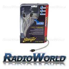 3,6 M Stinger Rca Compuesto Amarillo Rca Cable Av Video Digital De Audio Lead Coaxial