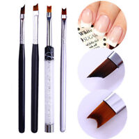 French Nail Tips  Nail Brush Half Moon Shape Acrylic Painting Pen Tool