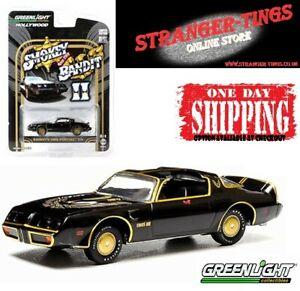 Greenlight #44710 Pontiac Trans Am 1980 Smokey and The Bandit II 1/64 Firebird