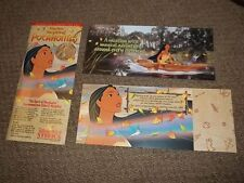 Walt Disney World - Spirit of Pocahontas - SAMPLE Commemorative Ticket 1995-PLUS