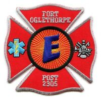Fort Ft Oglethorpe Fire Rescue Department Explorer Post 2305 Patch Georgia GA -