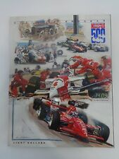 1994 Indianapolis 500 Programs Al Unser, Jr Marlboro Penske Mercedes