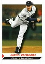 Justin Verlander 2011 Sports Illustrated Detroit Tigers Baseball Scheda #50