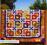 "Olympia - pieced quilt PATTERN for 2.5"" strips - Cozy Quilts - 5 sizes"