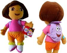 "Dora Explorer w/ Mr. Face 20"" XL Plush Backpack"