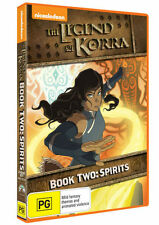 The Legend of Korra: Book 2 - Spirit * NEW DVD * (Region 4 Australia)